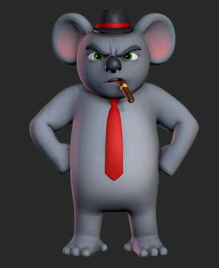 Free rigs – Beta Test Koala Bob rig | ANIMVERSE